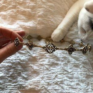 Pretty vintage gold crown
